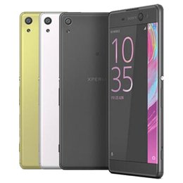 refurbished cameras Canada - Refurbished Original Sony XA Ultra 6.0 inch Octa Core 3GB RAM 16GB ROM 21.5MP Camera 4G LTE Android Smart Mobile Phone Free DHL 10pcs