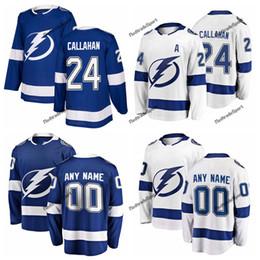 Hockey Jersey Callahan 24 UK - 2019 Ryan Callahan Tampa Bay Lightning  Hockey Jerseys Custom Home 46e954df6