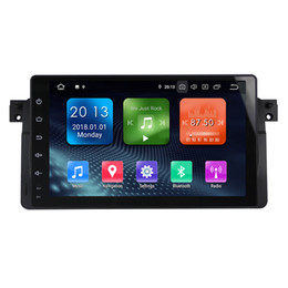 bmw series dvd player UK - Zhuohan 9 Inch HD Android Car DVD Player for BMW 3 Series E46 with Bluetooth GPS (AD-L9003)