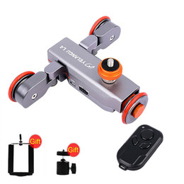 $enCountryForm.capitalKeyWord Australia - Freeshipping Electric Dolly 3-Wheel Pulley Car Rail Rolling Track Slider With Manual Remote Control For iPhone DSLR Camera Camcorder