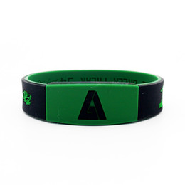 $enCountryForm.capitalKeyWord Australia - Good quality rubber basketball sports bangle silicone power bracelet super star signature as Antetokounmpo fans gift