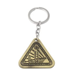 $enCountryForm.capitalKeyWord Australia - Bronze Star Trek Pendants Keychains The Dark World STARFLEET ACADEMY Letter Logo Keyring