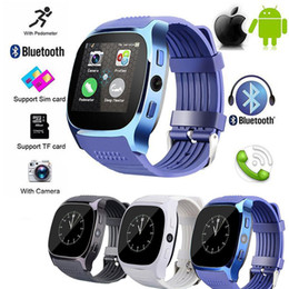 $enCountryForm.capitalKeyWord Australia - Bluetooth Smart Watch T8 Smart Wristband SIM Intelligent Android Sport Watch for Android Cellphones relógio inteligente Smart Watches in Box