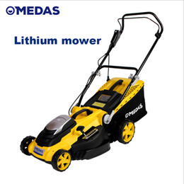 tools mower grass NZ - 2018 Limited Tecumseh Carburetor Midas Foldable Lithium Electric Lawn Mower Rechargeable Trolley Grass Machine Home Garden Trimmer Tools 40v