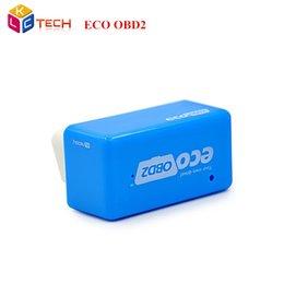 Großhandel 20 teile / los Neue EcoOBD2 Diesel Auto Chip Tuning Box Stecker 15% Kraftstoff Sparen Niedriger und Emissions Autos