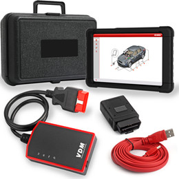 srs diagnostic tool Australia - UCANDAS VDM V3.9 Full System Professional OBDII Automotive Scanner ECU ABS SRS SAS Oil Reset Multi-Language OBD2 Diagnostic Tool