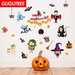 $enCountryForm.capitalKeyWord Australia - Decorate Home Hallowmas Halloween cartoon art wall sticker decoration Decals mural painting Removable Decor Wallpaper G-2115