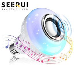 $enCountryForm.capitalKeyWord Australia - RGB Wireless AC 100-240V 1200 Lumen E27 Base Music Bluetooth Speaker Led Color Smart Bulb