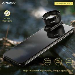 Full hd mobile phones online shopping - 2019 Apexel mm Hundred Micro Lens Professional HD Universal Mobile Phone Lens