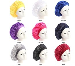 chemo beanie NZ - New Hot Muslim Women Stretch Sleep Turban Hat Scarf Silky Bonnet Chemo Beanies Caps Cancer Headwear Head Wrap Hair Loss Accessories