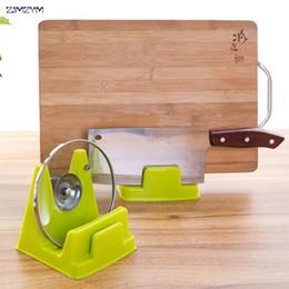 Kitchen Blocks Australia - Home Cutting Board Rack Holder Multi-purpose Plastic Kitchen Pot Pan Lid Cover hanger Block Tools racks Kitchen