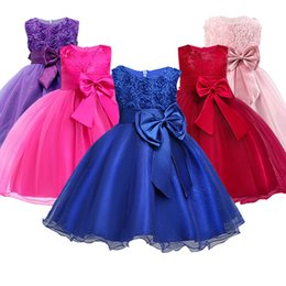$enCountryForm.capitalKeyWord UK - Christmas Girl Dress For Evening Prom Party Costume Teenage Girls Kids Clothes Wedding Birthday Gown Little Girl Red