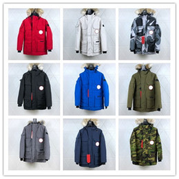 Wholesale long coat styles men online – oversize 2019 New leisure designer jacket PBI Expedition Parka Fusion Fit Men s winter down coat styles