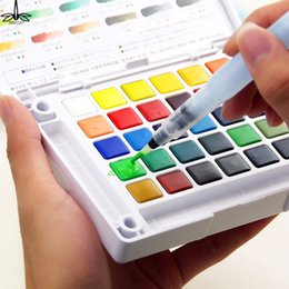 $enCountryForm.capitalKeyWord Australia - Refillable Water Ink Pen for Water Color Calligraphy Painting Illustration Pen Office Stationery