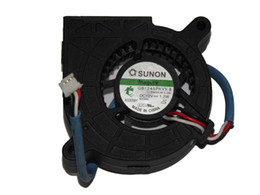 Discount fan for sunon SUNON GB1245PKVX-8 11.B3815.AF.X.GN 12V 1.2W 3Wire for optoma X316ST DT5603 EW610ST VE28X Projector Fan