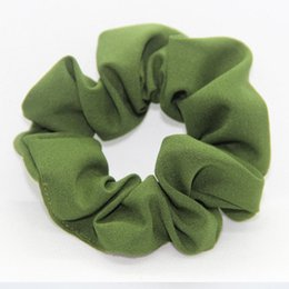 gum hair UK - Women Rubber Bands Tiara Satin Ribbon Bow Elastic Hair Band Rope Scrunchie Ponytail Holder Gum for Hair Accessories