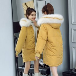 Korean women winter long coat online shopping - Winter New Women s Cotton padded Clothing Loose Long Style Heavy Collar Korean Version Thickened Fashion Coat Cotton padded Clothing