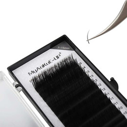 individual eyelash wholesalers UK - Makeup Lashes 7-15 Mix tray Individual Eyelash Extension Mink Eye Lash 0.05 0.07 0.10mm Beauty Salon