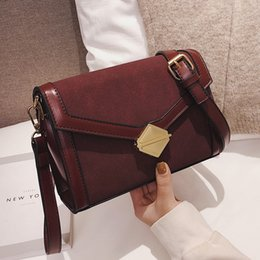 Suede Leather Crossbody Bags For Women 2019 Small Shoulder Bags Ladies Mini  Handbags And Purses Solid Color c67afaed68a9a