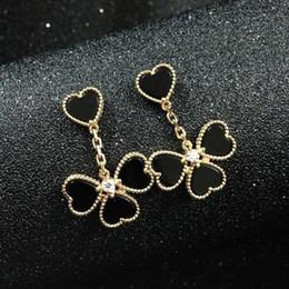 Stainless Steel Flowers Australia - Fashion brand silver 18k rose gold 316L stainless steel women flower stud earrings ear studs jewelry