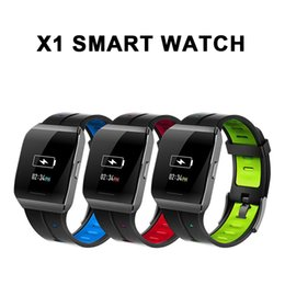 Smart Watches Sale Rate Australia - Hot Sale New X1 Smart Watch Color Screen IP68 Waterproof Heart Rate Blood Pressure Monitor Remote Control Camera Bracelet For Android IOS