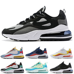 Discount best black bodies - Designer Cushions React Mens Jogging Shoes Bauhaus Hyper Jade Black Vast Grey Phantom Multi-Color Best Quality Runners M