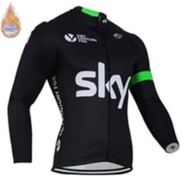 $enCountryForm.capitalKeyWord Australia - SKY 2019 Winter Thermal Fleece Long Sleeve Cycling Jersey Bicycle Clothing Bike Clothes mujer maillot Ropa Ciclismo hombre