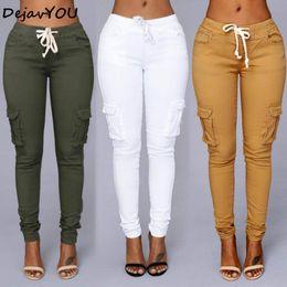 8e5fc8c1e8 Candy Colors Elástico Sexy Skinny Lápiz Jeans para mujeres Leggings Jeans Mujer  Pantalones de mezclilla de sección alta de las mujeres de cintura alta