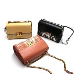 $enCountryForm.capitalKeyWord Australia - Lucky2019 Woman Small C Home K Weave Chain The Single Shoulder Bag Ma'am Diagonal Package