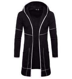 $enCountryForm.capitalKeyWord UK - Men Hoodies 2019 brand male long sleeve solid jacket hoodie zipper sweatshirts men black big size moleton masculino