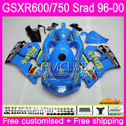 97 Srad Fairings UK - Body For SUZUKI New SRAD GSXR Good 750 600 1996 Top 1997 1998 1999 2000 Kit 1HM.0 GSX-R750 GSXR-600 GSXR750 GSXR600 96 97 98 99 00 Fairing