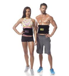 $enCountryForm.capitalKeyWord Australia - Weght loss belt Sweet Sweat Premium Waist Trimmer Men Women Belt Slimmer Exercise Ab Waist Wrap with box