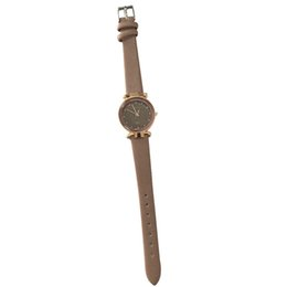 $enCountryForm.capitalKeyWord UK - Women Girl Retro Quartz Wrist Watch PU Leather Strap Colored Thin Dial Watches TS95