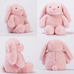 $enCountryForm.capitalKeyWord Australia - New Children Cute Cartoon Soft Plush Long Ears Sitting Rabbit Doll Toy Gift Fashion New Plush Doll Toy