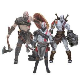 God War Figures Australia - NECA Kratos Toy GOD OF WAR 4 3 Game Heros Kratos Ghost of Sparta Action Figures 18cm PVC Doll