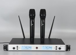 $enCountryForm.capitalKeyWord Australia - E630 Proffesional UHF Wireless Infrared Microphone With Metal Receiver and Aluminum Handheld for Speech Karaoke KTV Singer Good Sound