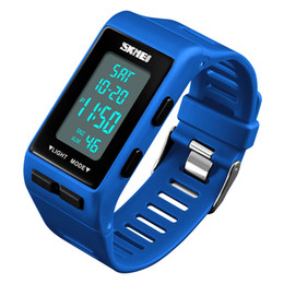 $enCountryForm.capitalKeyWord Australia - Fashion Digital Wrist SKMEI Brand Sports Watches LED 12 24 Hour Alarm Waterproof Electronic Watch For Men Women Fashion Digital Wrist Watch