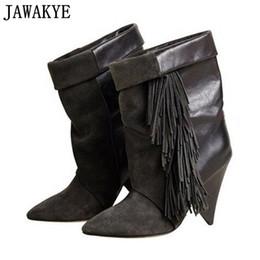 1cc6bcf28bd Fringe Boots Online Shopping | Boots Tassels Fringe for Sale