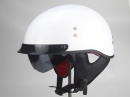 $enCountryForm.capitalKeyWord Australia - TKOSM Motorcycle Helmet Cascos Para Moto Open Half face Casco Moto Vintage Jet Capacetes de Motociclista with Dual Lens