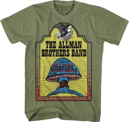 ccd9e998 THE ALLMAN BROTHERS BAND Hell Yeah! T SHIRT S-2XL New Official Live Nation  Merch Men Women Unisex Fashion tshirt Free Shipping
