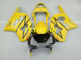 cbr 954 bodywork UK - Injection Fairing body kit for Honda CBR900RR 954 02 03 CBR 900RR CBR900 RR 2002 2003 ABS Yellow black Fairings bodywork+Gifts HC42