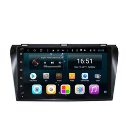 $enCountryForm.capitalKeyWord Australia - Android car radio with multimedia player multi-touch screen bluetooth built-in wifi front camera for Mazda 3 black 9inch