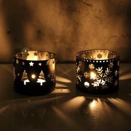 $enCountryForm.capitalKeyWord Australia - Christmas Decorations For Home For Home Hollow Candle Holder Candlestick Creative Christmas Decor Party Decoration ZJ0155