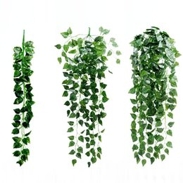 $enCountryForm.capitalKeyWord Australia - 1Pcs Artificial Plants Fake Hanging Rattan Vine Plant With Leaves Garland Home Garden Wall Decoration Green Home Decor
