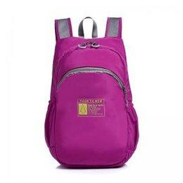 3ef270e68b2a FoldingTravel Nylon Camping backpacks woman portable Outdoor Packable  Lightweight Large Hiking bag Men Sports Gym Bags LJJT225