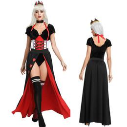 $enCountryForm.capitalKeyWord Australia - Queen of Hearts Ladies Fancy Dress Halloween Sexy Alice in Wonderland Womens Adults Costume MS4347 one size S-L