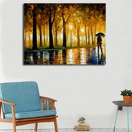 park paintings NZ - Bewitched Park Wall Art Canvas Posters Prints Landscape Painting Wall Pictures For Office Living Bedoom Home Decor Accessories