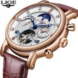 $enCountryForm.capitalKeyWord Australia - Gift Lige Men Watch Mechanical Tourbillon Luxury Fashion Brand Leather Men Sport Watches Mens Automatic Watch Relogio Masculino J190614
