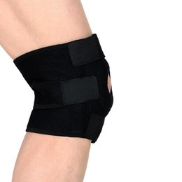 NeopreNe kNee support patella online shopping - Elastic Neoprene Patella Brace Knee Belt Support Fastener Adjustable Strap sport safety waist support sportwear y10