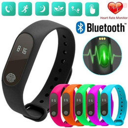 smart health pulse watch Australia - Bracelet M2 smart bracelet fitness tracker watch with heart rate monitor waterproof activity tracker pedometer call reminder health bracelet